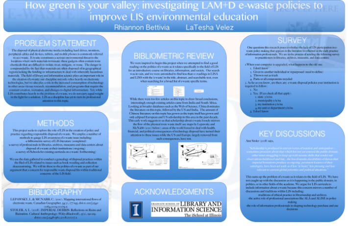 Poster for ALISE 2016